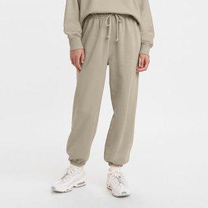 Levi'sWFH 奶茶灰女士卫裤