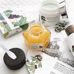 7.5折 + 蜂蜜面膜¥241FARMACY 护肤精选,卸妆膏200ml超大容量仅¥369,性价比更高