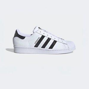 Adidas联名款首次降价!Superstar Swarovski联名小白鞋