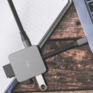$29.99 包邮京造 6合1 USB Type-C便携扩展坞 带PD快充 读卡器