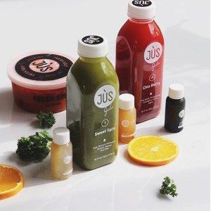 $99+包邮 果蔬汁新鲜送到家Jus By Julie 3日清肠蔬果汁套餐优惠 回归轻盈体态