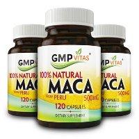 GMP Vitas 秘鲁黑玛卡精元礼包 500mg 120粒 X 3瓶