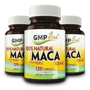 GMP Vitas秘鲁黑玛卡精元礼包 500mg 120粒 X 3瓶