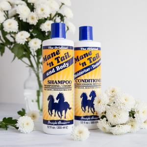 洗护套装€10.7 头发快快长Mane'n Tail 美国箭牌经典洗发套装 深层清洁 健康毛囊 减少掉发