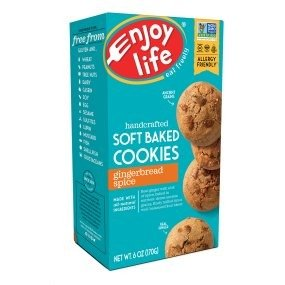 $11.46Enjoy Life Soft Baked Cookies Gingerbread Spice 6 Boxes