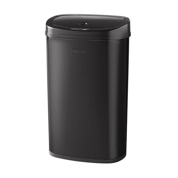不锈钢感应垃圾桶 13.2加仑