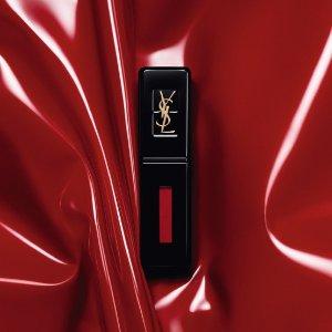 低至4.5折+满送方管口红YSL 黑管唇釉热卖 轻薄又持久 速抢秋冬限定色
