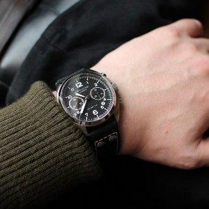 $699Hamilton Men's Khaki Aviation Pilot Pioneer Auto Chrono Watch Model: H76416735