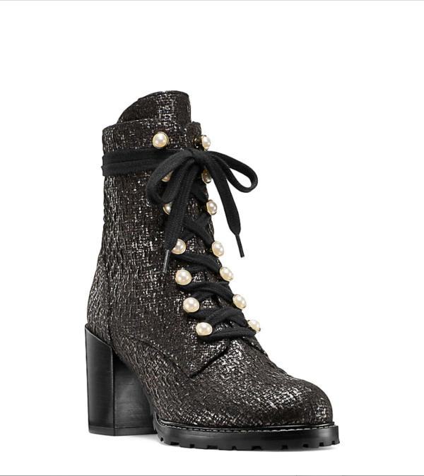 IVEY 珍珠靴