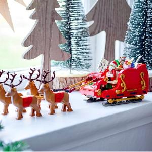 蓝色圣诞小屋已上市£79.99新品预告:LEGO 2021年度圣诞新品都在这里 每年超期待