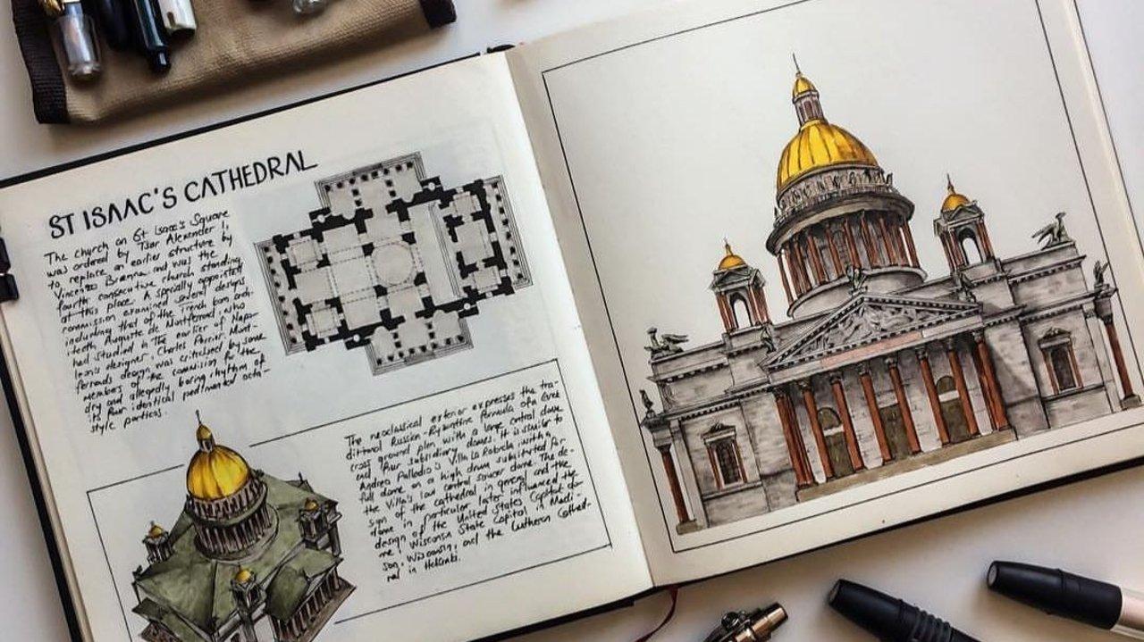 小白自学建筑素描第一课