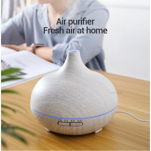 KBAYBO 400ml electric Aroma Essential Oil Diffuser Air Humidifier