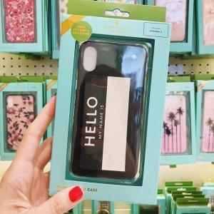 手机上的小心思 封面款也有kate spade 精选iphone手机壳热卖