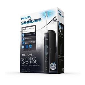 5100 牙龈护理型电动牙刷 HX6857/32 黑色