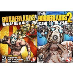 Borderlands: Game of The Year + Borderlands 2: Game of The Year