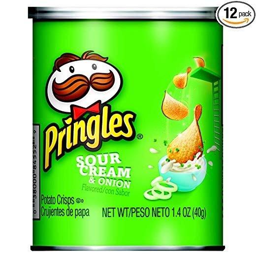 薯片 酸奶油洋葱味 1.41oz. 12罐
