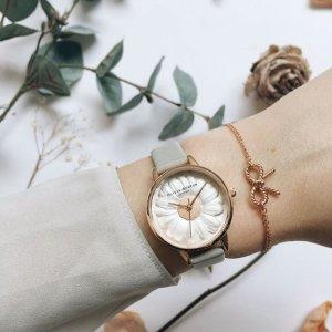 低至75折 满£150额外8折 手表£43起送礼佳品:Olivia Burton 英伦百搭少女心手表热卖