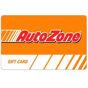 AutoZone $25 礼卡