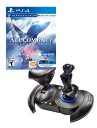 Ace Combat 7 Skies Unknown + T-Flight HOTAS 4 Ace Combat 7 Edition
