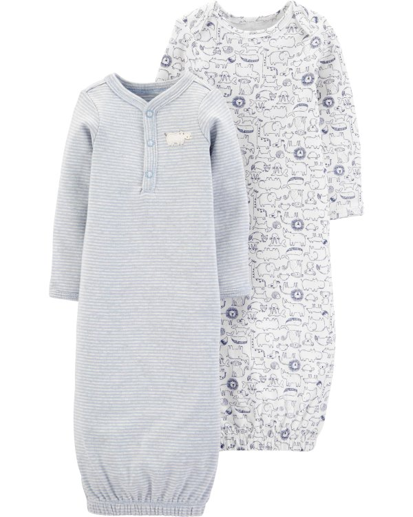 新生宝宝睡袍2件