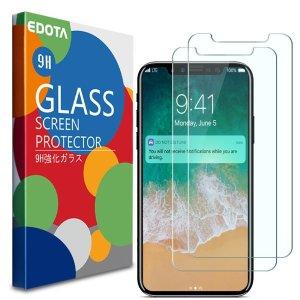 $7.99 (原价$10.99)Iphone X 屏幕保护钢化膜,保护咱们脆弱的小心脏