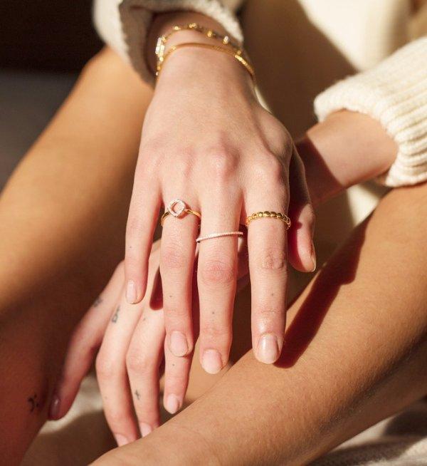 mini钻石戒指