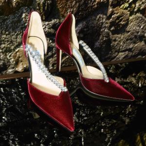 新品8.5折 收宋茜同款钻石鞋无门槛:Jimmy Choo 绝美高跟鞋 收Love、丝绒系列、钻石鞋
