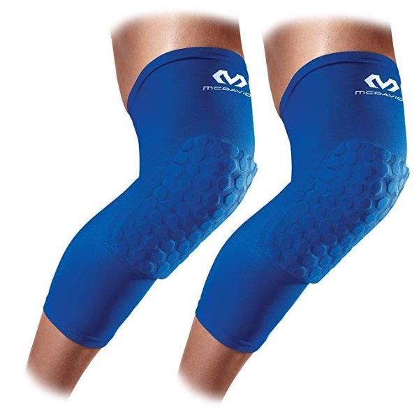 六角护膝套+护肘套装 蓝色