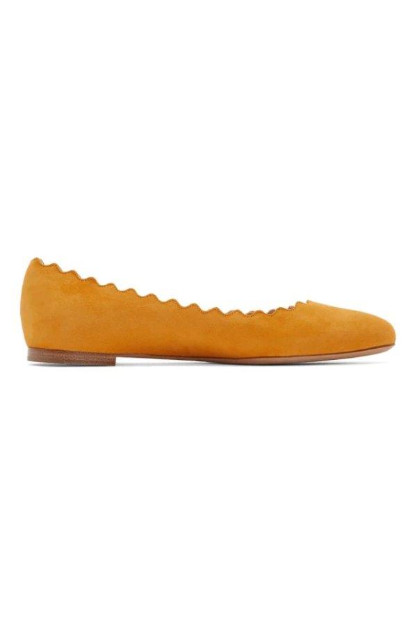花瓣平底鞋