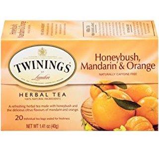 $8.68Twinings 橙味蜂蜜茶包 20包1.41oz 6盒