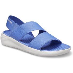 Crocs满$75减$15女士拖鞋