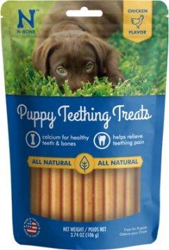 N-Bone Puppy Teething Treats, 3.74-oz bag - Chewy.com