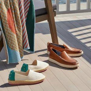 低至4折+凉鞋额外9折Cole Haan 季末大促 凉鞋$31 牛津鞋、渔夫鞋$62
