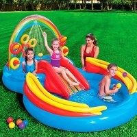 Intex 彩虹充气蓄水玩具