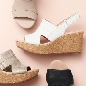 Up to Extra 40% Off Clarks Shoes Sale @ macys.com