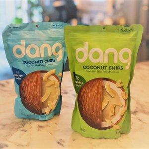 $11.40Dang Gluten Free Toasted Coconut Chips Original 3.17oz Bags 3.17 Ounce 4 Count