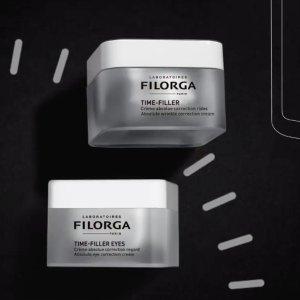 变相7折起 €35收逆时光晚霜Filorga 菲洛嘉抗老护肤 收逆时光眼霜、NCEF面膜 逆龄焕颜秘诀