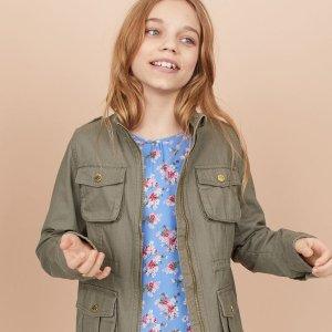 低至额外7折 新加入多款外套折扣升级:H&M 儿童服饰全场热卖 多买多送