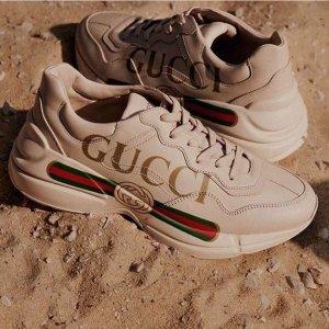 8.5折!Gucci 惊喜大促 收老爹鞋、小白鞋、马衔扣包包等大热款