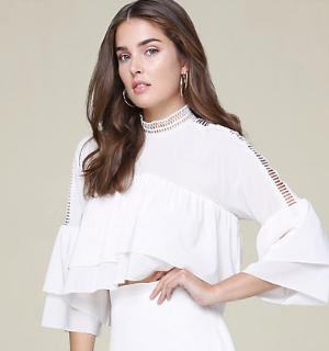 低至4.8折+额外5折 $10.5起限今天:Bebe精选美衣折上折 反季囤小仙裙