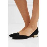 Nicholas Kirkwood Casati embellished 珍珠平底鞋