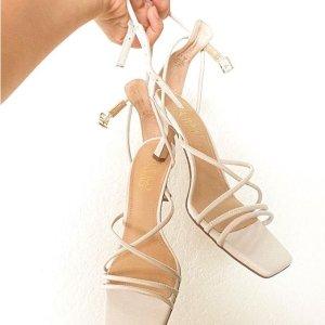 额外6折+免邮 $16起Franco Sarto 夏日凉鞋专场,封面款细带凉鞋$21
