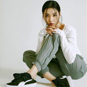 低至5折 £14收奶油色上衣Puma 专区超值好价 收韩版休闲服、Cali、Rider厚底鞋都在线
