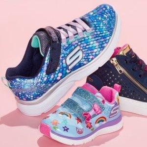 3.5折起Skechers 儿童鞋促销 收超美亮片款童鞋