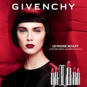 $24+送好礼Givenchy 双色小羊皮唇膏6.3折热卖 色号全
