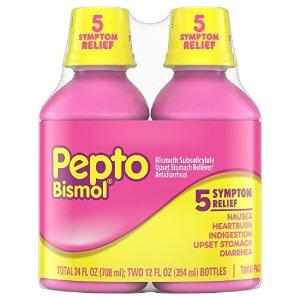 Pepto Bismol 治胃灼热不消化等糖浆