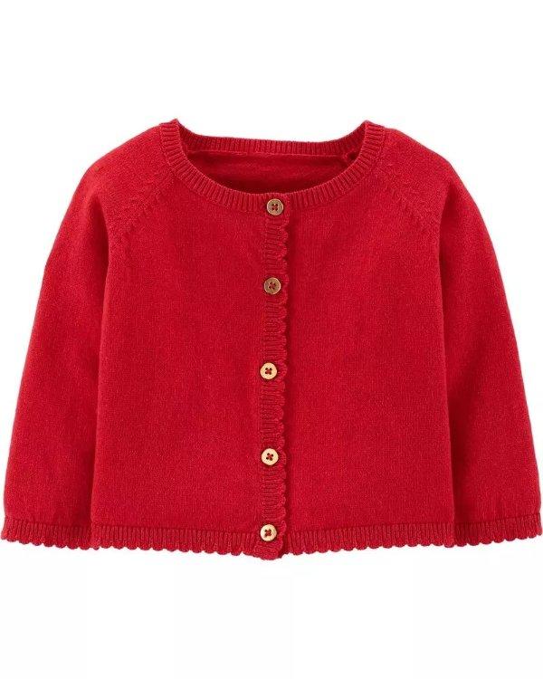 婴儿针织外套,3色选