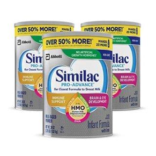 最高立减$26+包邮Similac 婴幼儿配方奶粉促销