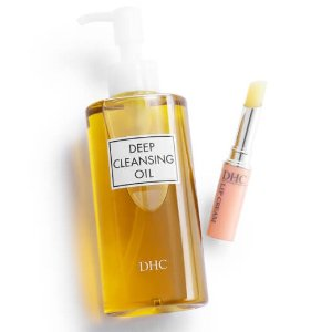 DHC价值£32.75 卸妆油+润唇膏套装