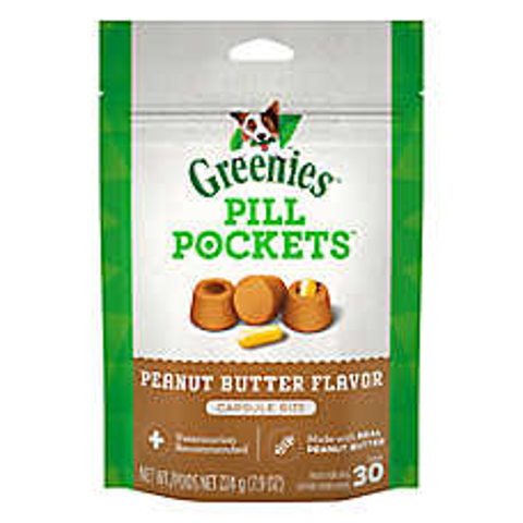 Buy 1 Get the 2nd 50% OffGreenies Pill Pockets Dog Treats on Sale